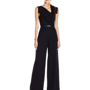 Black Halo Jackie O Belted Romper Dress Jumpsuit